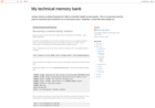 Screenshot of My technical memory bank: Recovering a crashed MySQL instance