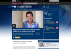 Screenshot of BBC Radio 4 - Inside Health, Why hernias, hands and varicose veins might not be treated on the NHS